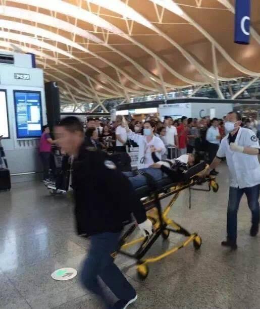 Breaking: Blast from 'self-made' explosive injures three in Shanghai airport