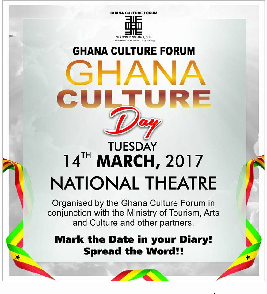 Ghana Culture Day Slated for March 14