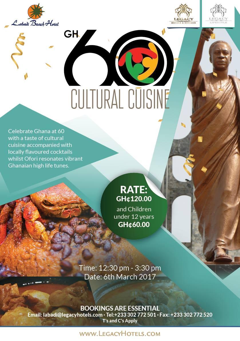 Labadi Beach Hotel Hosts Ghana @ 60 Cultural Cuisine