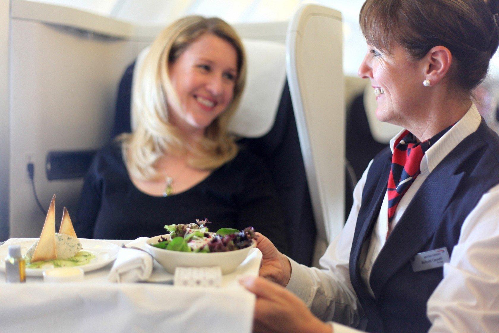 British Airways considers scrapping free long-haul food