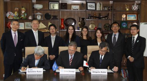 UNWTO and the JTTA partner to foster gastronomy tourism in Japan