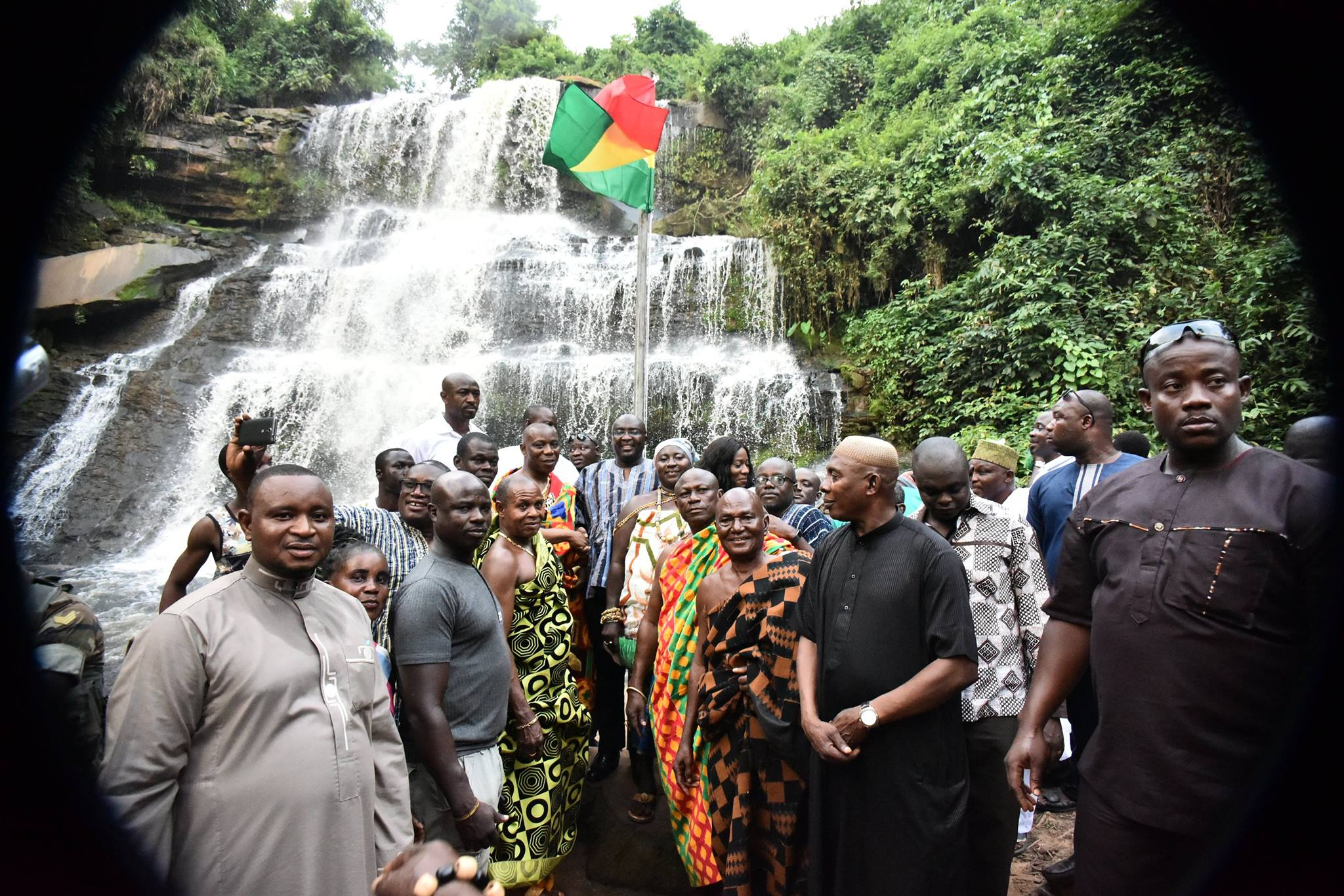 #Ghana: Kintampo Waterfalls Re-opened to Tourists