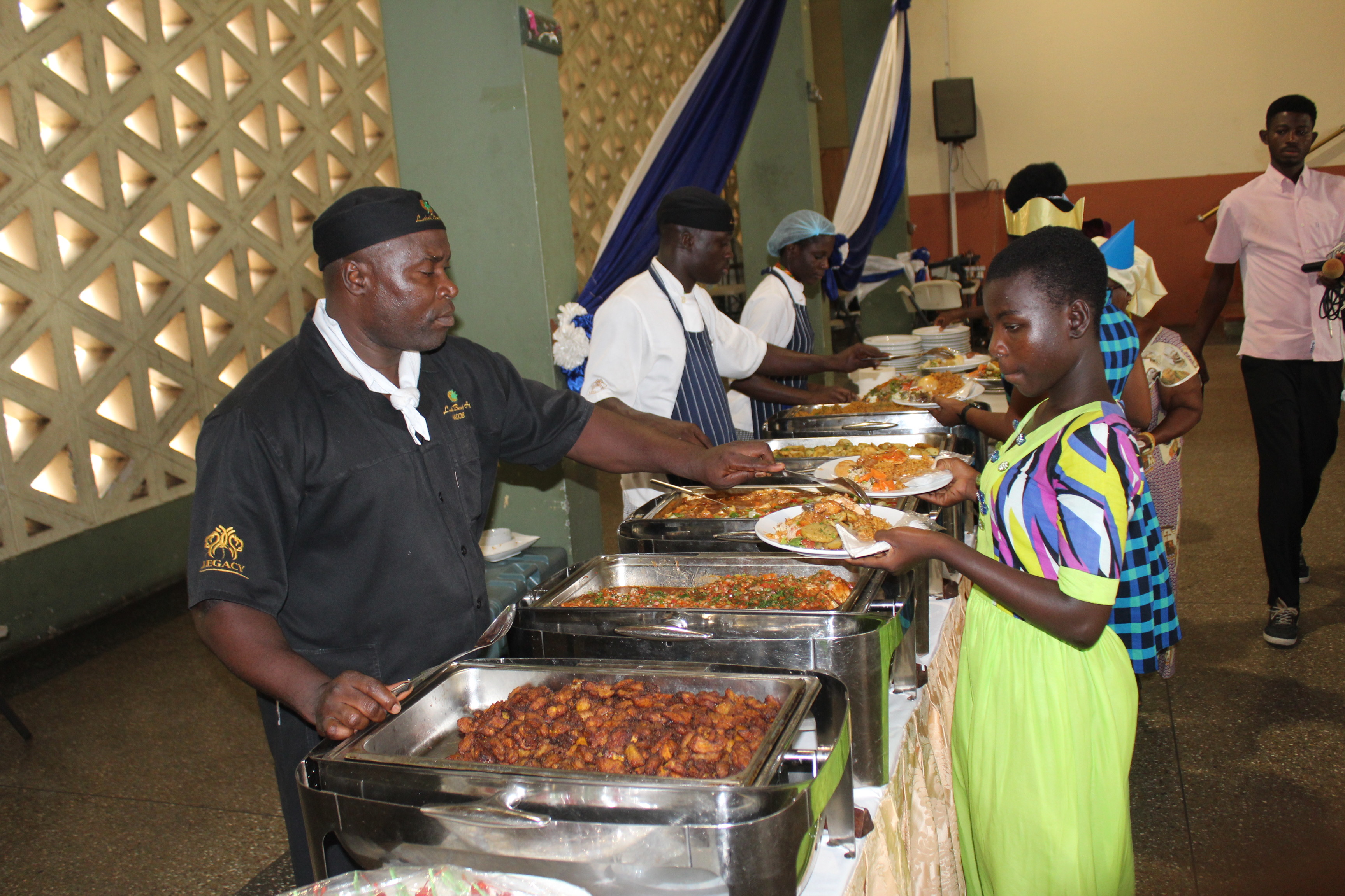 Labadi Beach Hotel Throws Christmas Party for Cured Lepers and Street Children