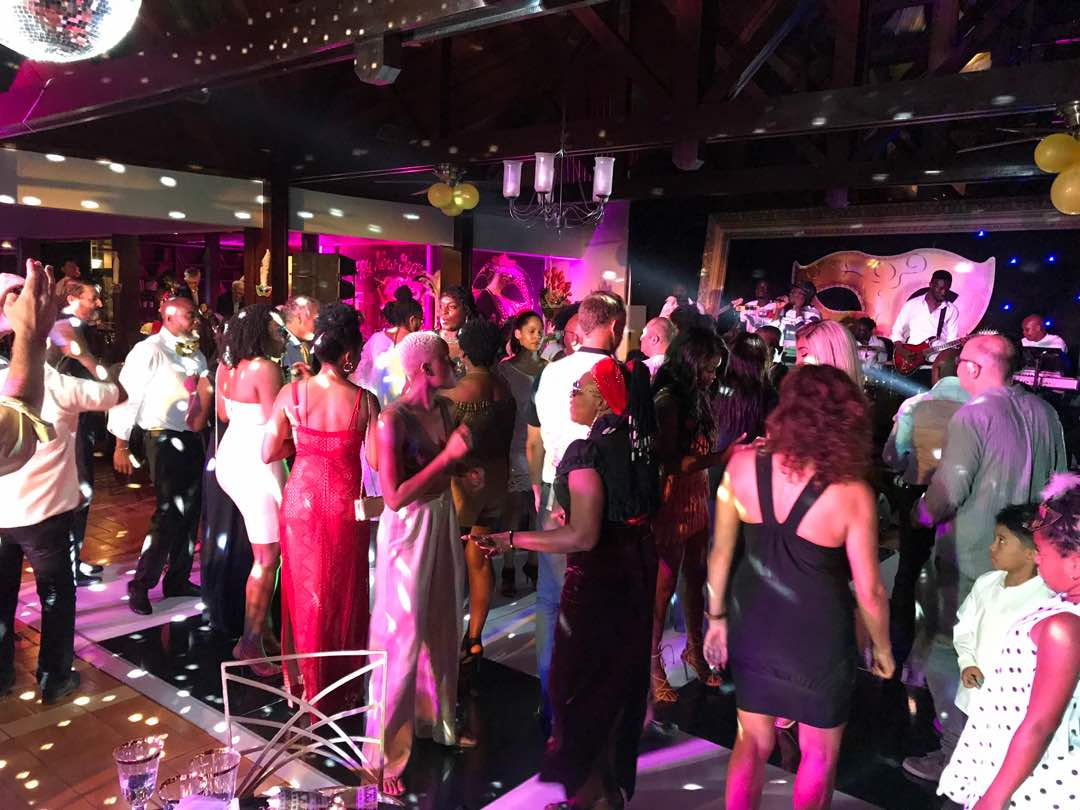 Labadi Beach Hotel welcomes 2018 with Masquerade party