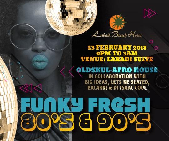 Labadi Beach Hotel's Funky Fresh Returns on February 23