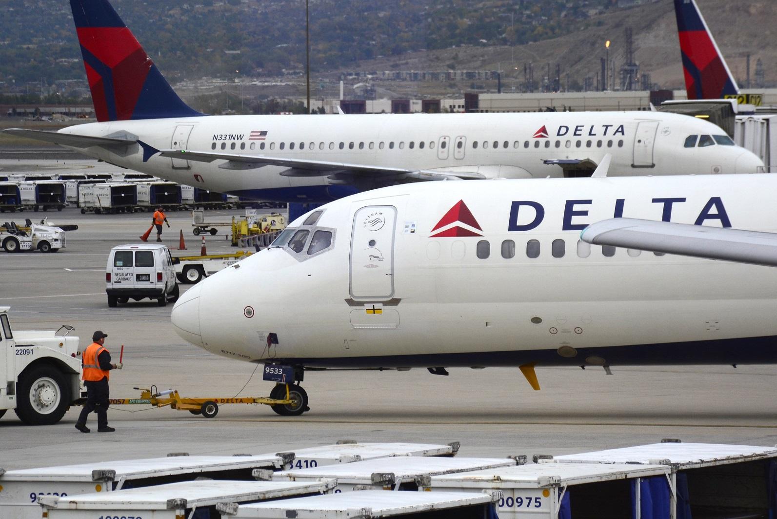 Five injured after Delta passengers evacuate plane in Nigeria