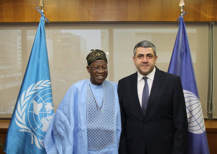 Lai Mohammed calls on UNWTO Secretary General