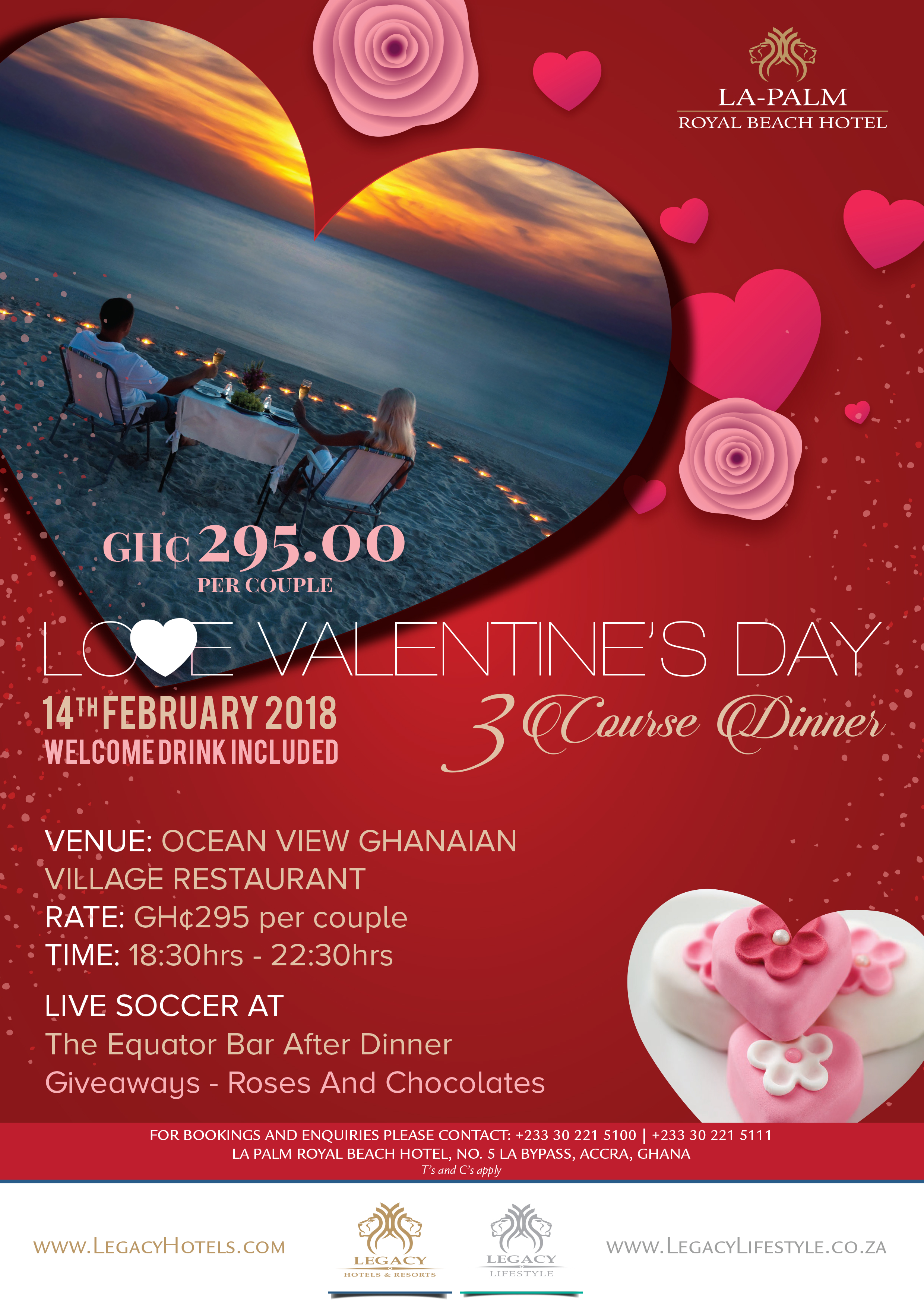 Love Valentines Day @ LaPalm Royal Beach Hotel