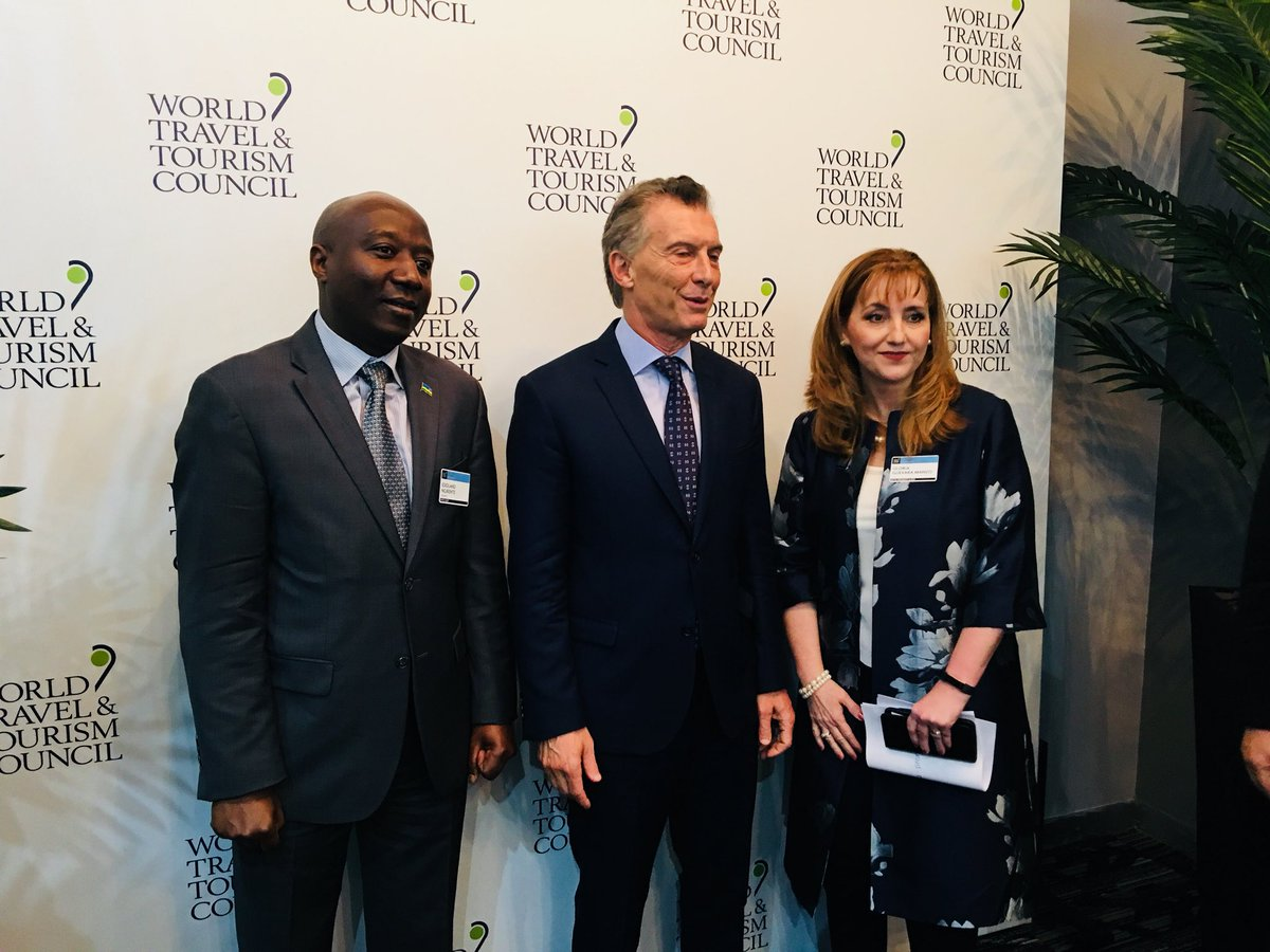 Rwanda honoured with the World Travel & Tourism Council's first Global Leadership Award