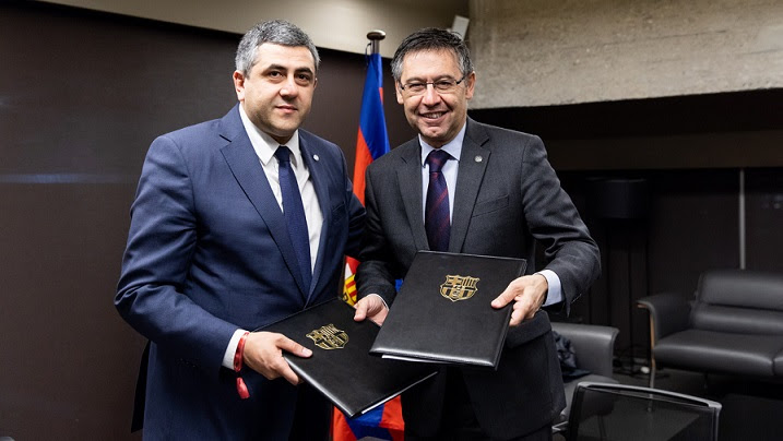 World Tourism Organization and FC Barcelona sign collaboration agreement