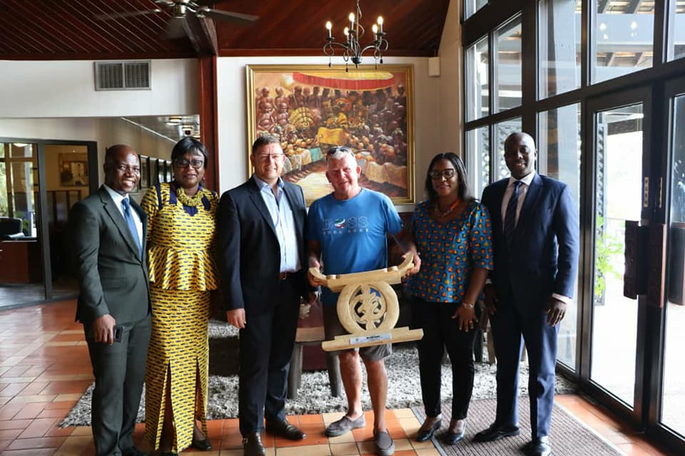 Labadi Beach Hotel bids farewell to loyal Guest