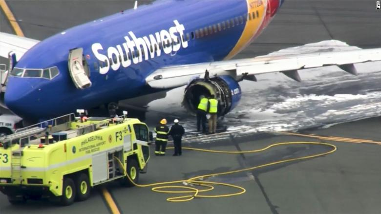 Breaking: Passenger killed following Southwest Airlines engine failure