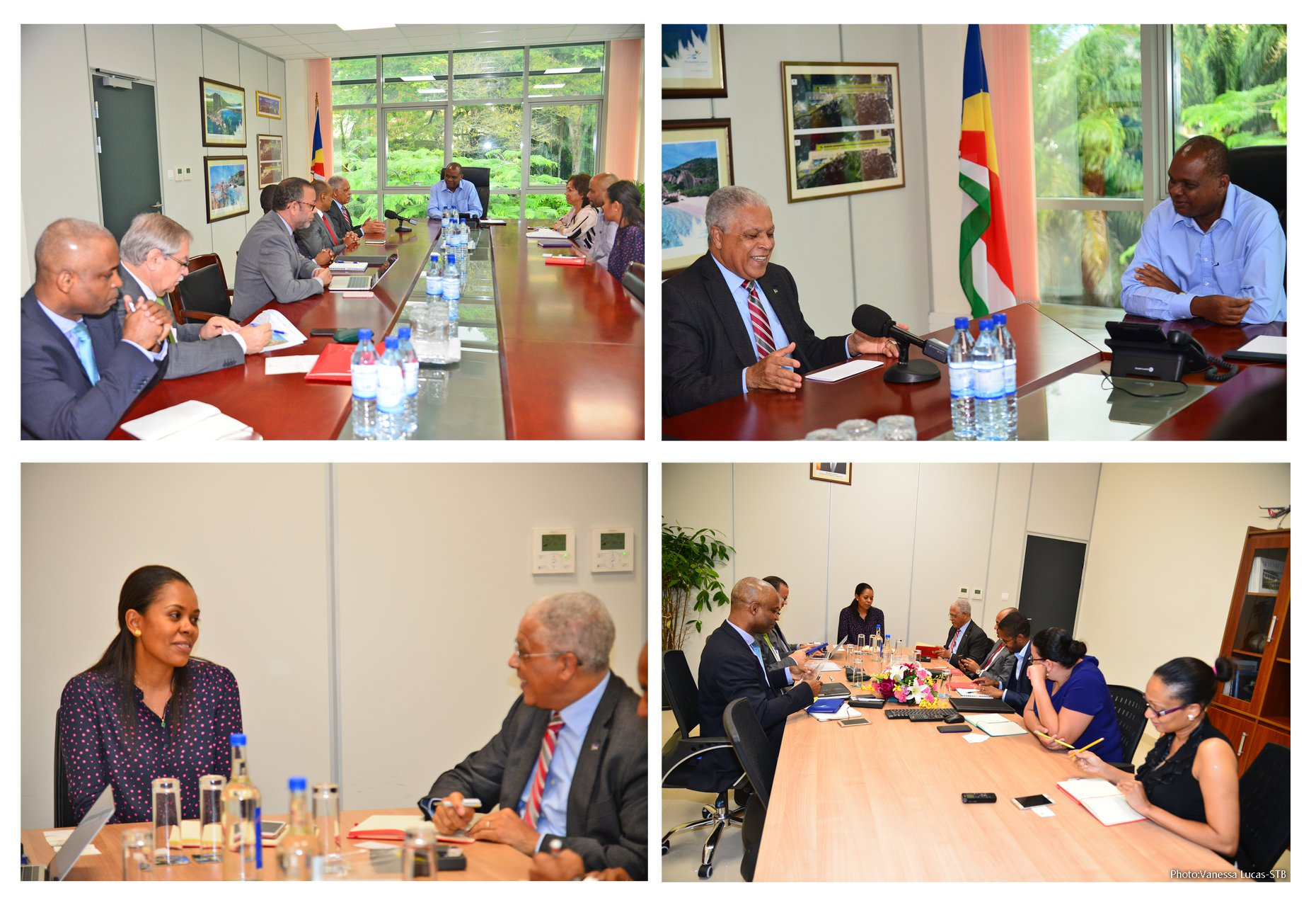 Seychelles Tourism Authorities share experiences with counterparts from Cabo Verde