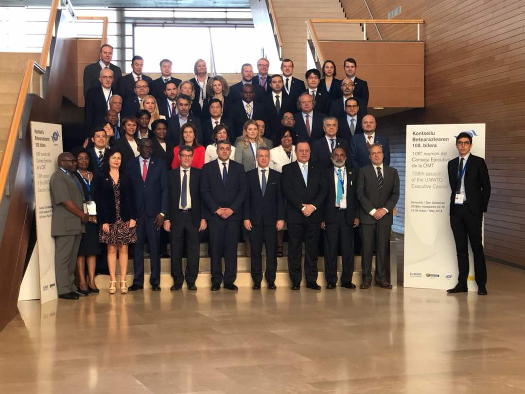 108th UNWTO Executive Council opens in San Sebastian