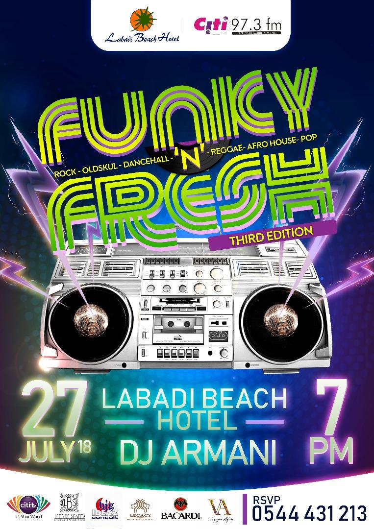 Funky N Fresh @ Labadi Beach Hotel