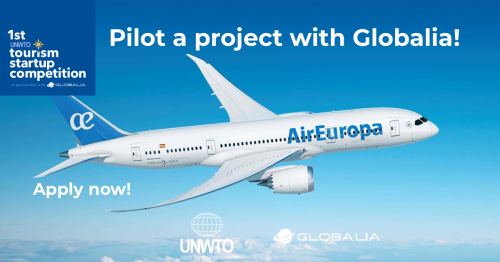 UNWTO and Globalia announce the first and largest  competition for tourism startups