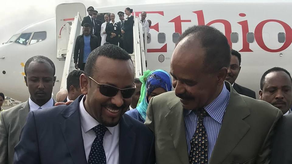 Ethiopian Airlines Airplane Lands in Asmara after 20 years