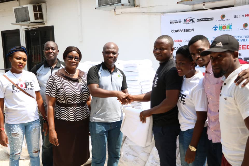 Labadi Beach Hotel donates to Give me Hope  Foundation