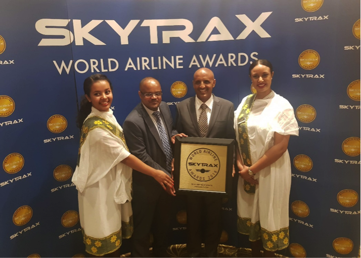 #Ethiopian scoop three top awards at SKYTRAX World Airline Awards