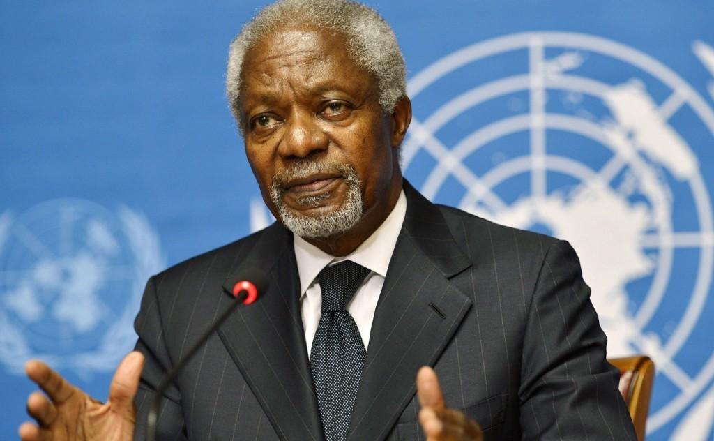 UNWTO mourns Kofi Annan