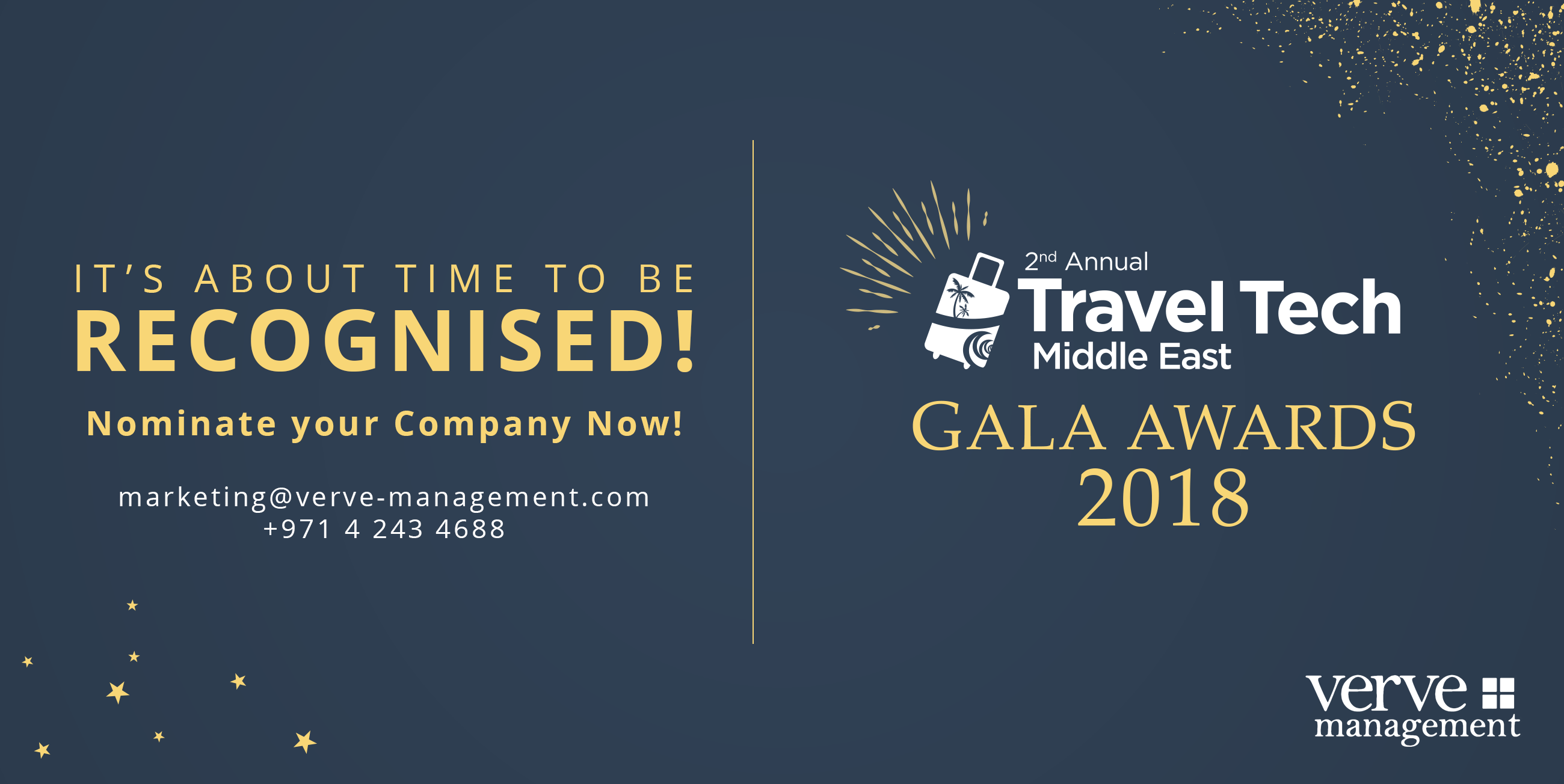 Travel Tech Gala Awards 2018 launched in Dubai