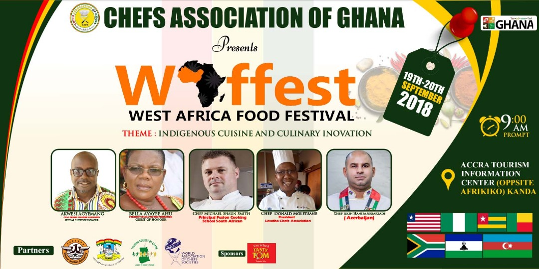Chefs Association of Ghana to host first ever West Africa Food Festival