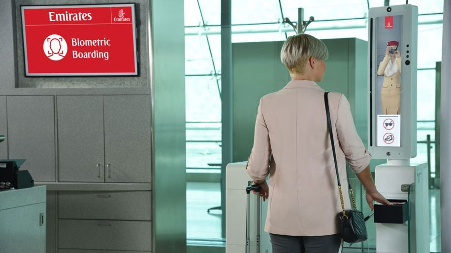 Emirates set to unveil world's first integrated 'biometric path'