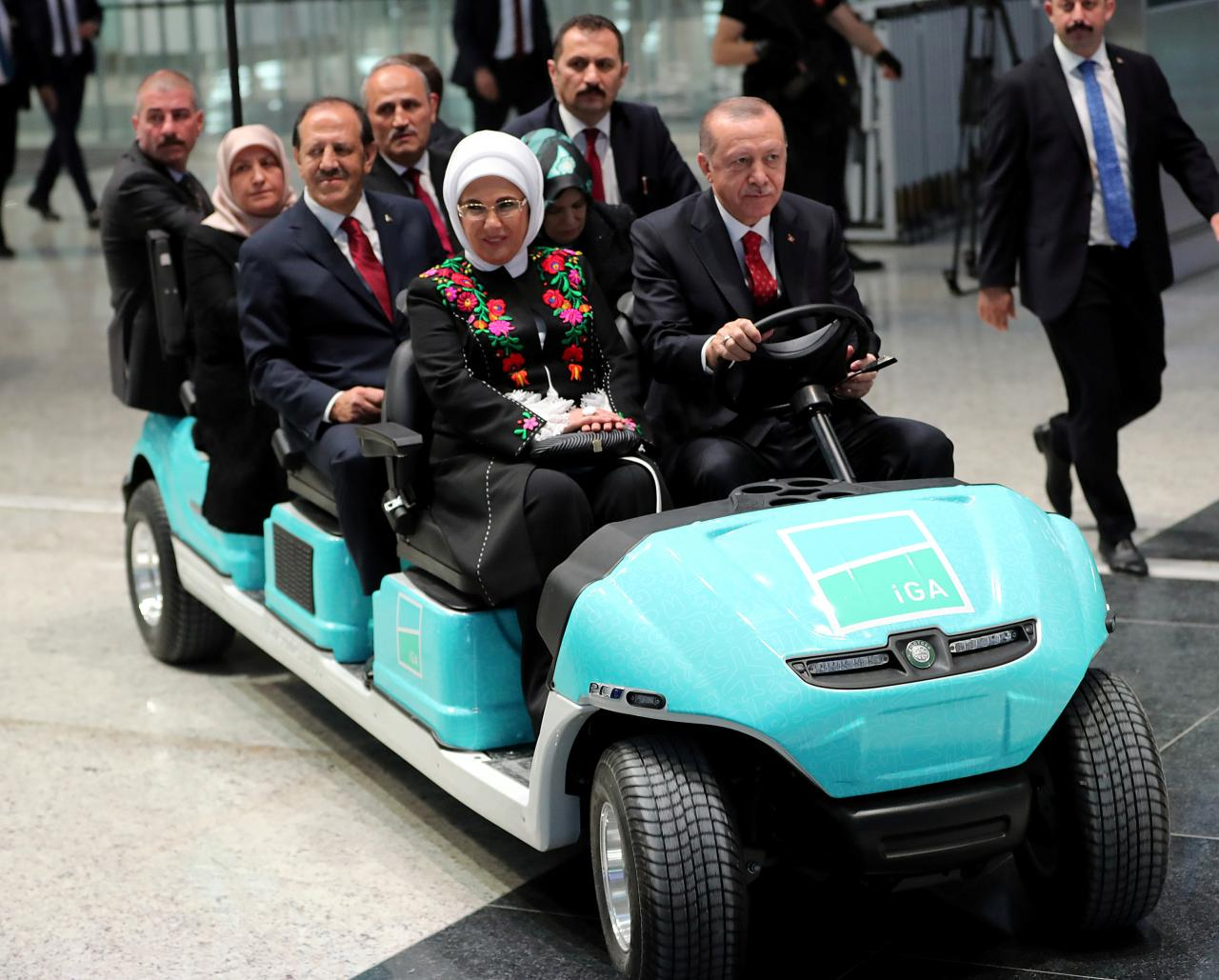 Erdogan opens new 'Istanbul Airport', Turkey's biggest