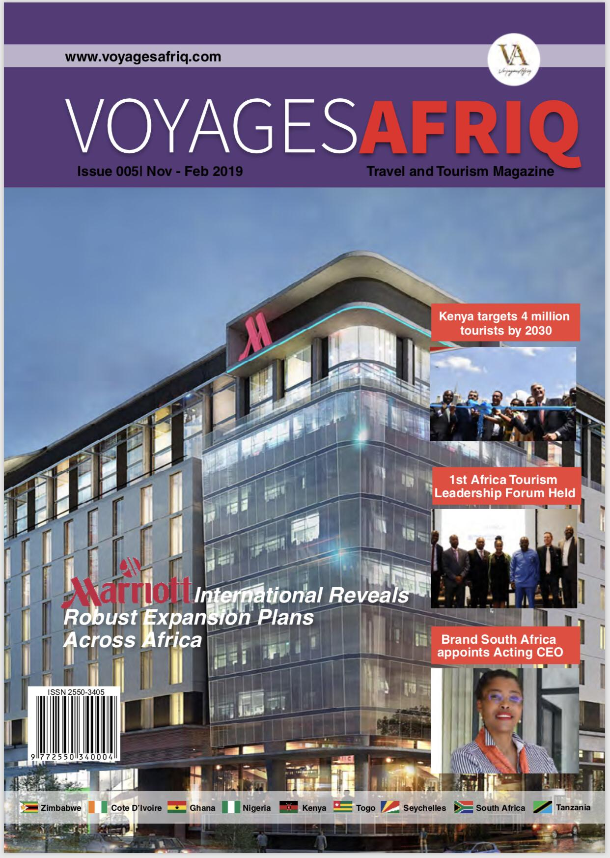 November edition of VoyagesAfriq Travel Magazine is out!