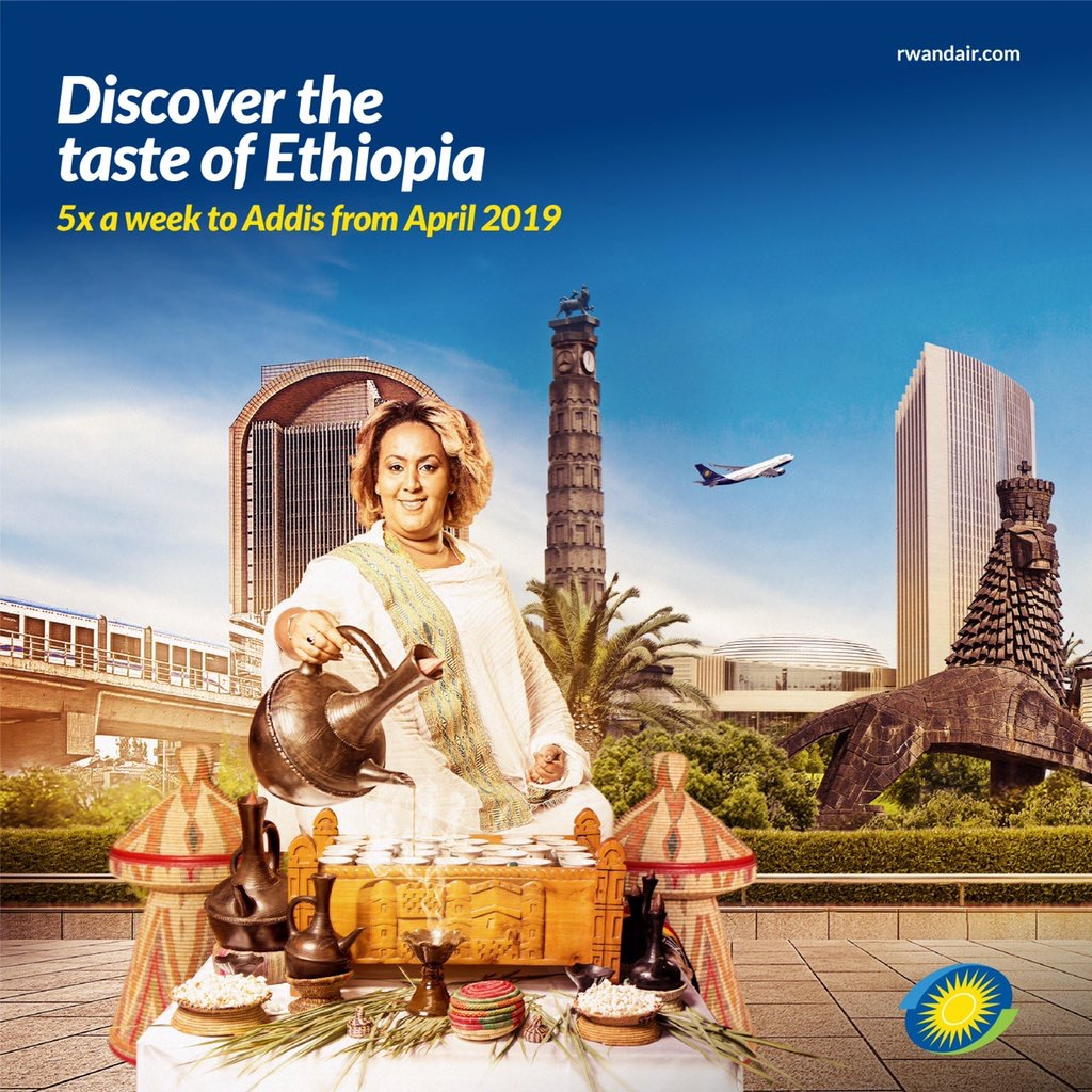 #RwandAir confirms launch of #AddisAbaba flights from April next year