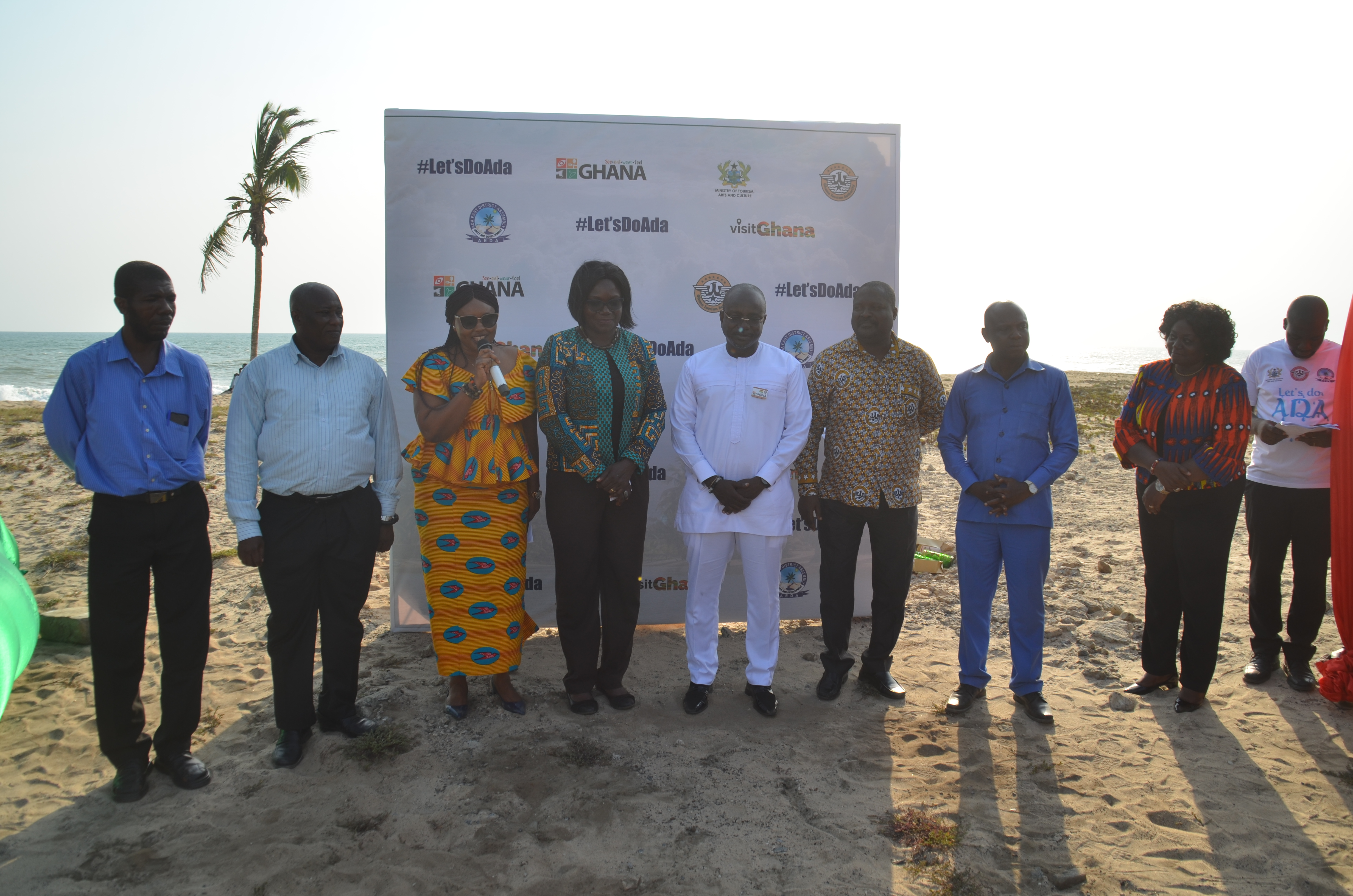 Ada as a tourism enclave launched; area to see massive tourism developments
