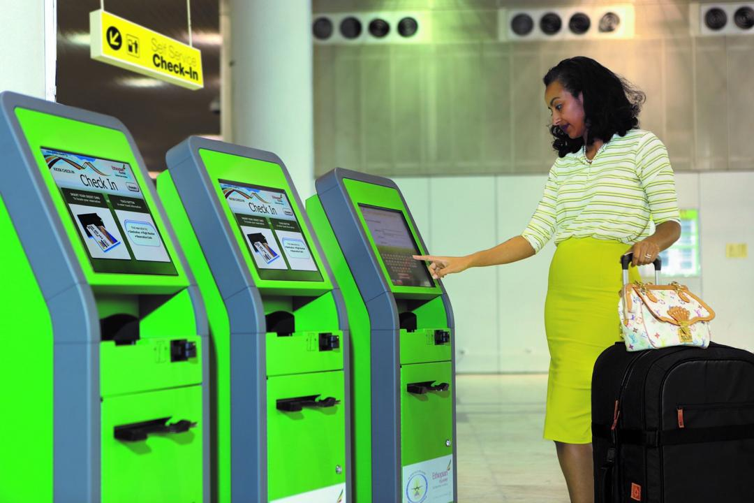 Ethiopian Implements IATA's Fast Travel Self Check-in Initiative