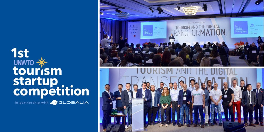 UNWTO announces 10 finalists for its Tourism startup competition