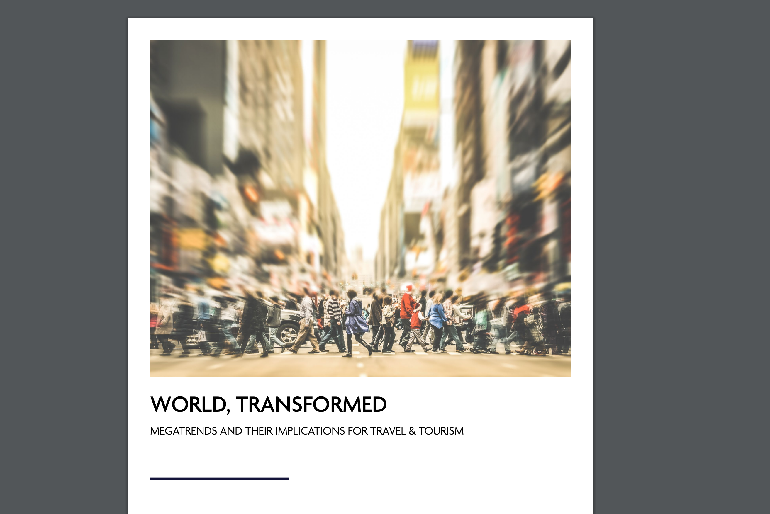 #FITUR2019: WTTC announces Global Megatrends Shaping New Imperatives for the Travel & Tourism Industry
