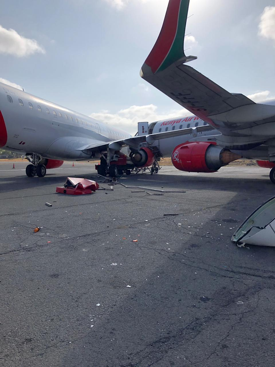 #KenyaAirways' hangar incident takes two Embraers out of action
