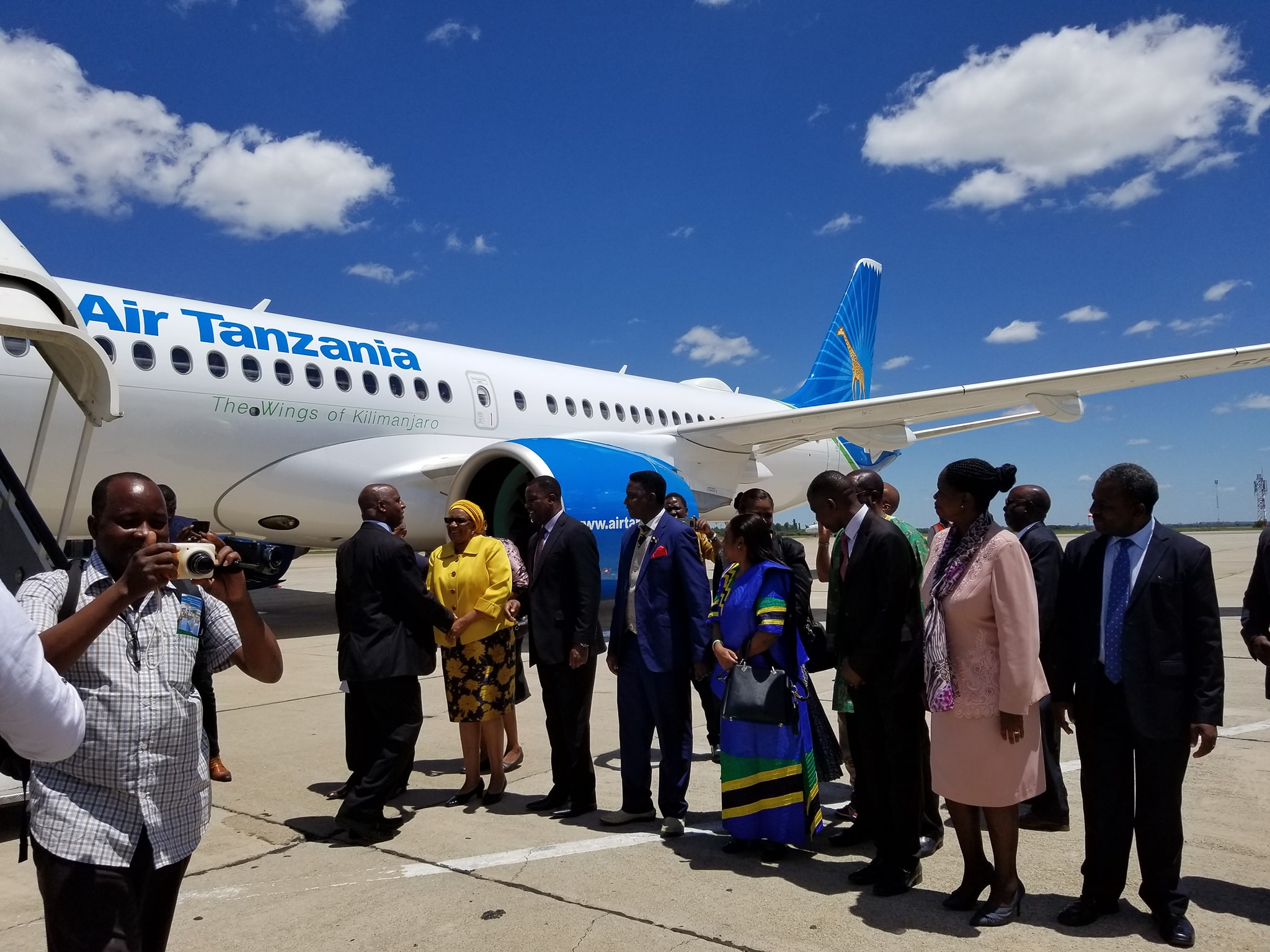 Air Tanzania resumes Dar es Salaam – Harare flights