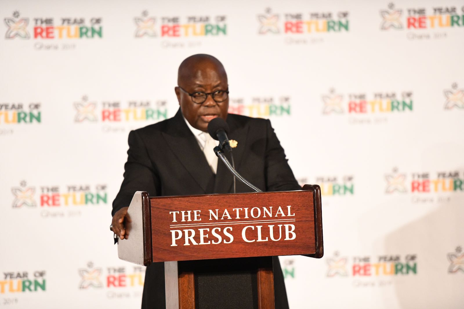 President Akufo-Addo – Never again should Africans permit slave trade