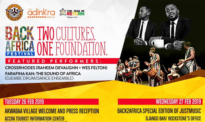 The 2019 Back2Africa Festival & Tour, a Birthright Journey to Africa