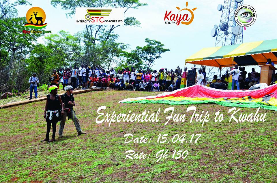 #NjoyGhanaTours Takes Tourists on Kwahu Tour this Easter Weekend