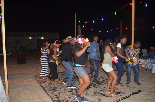 Labadi Beach Hotel While Away Friday Night With Beach Front Party for Clients
