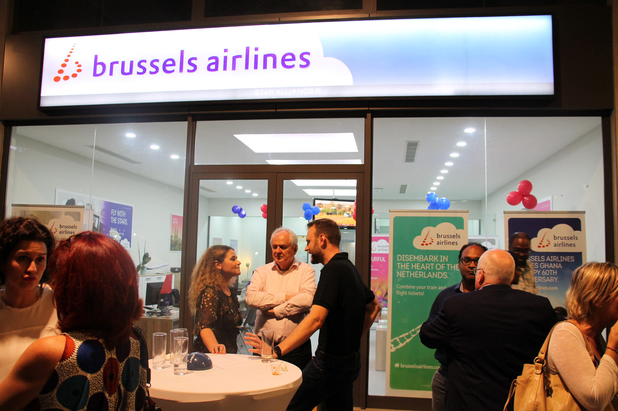 Brussels Airlines opens new office at Airport City
