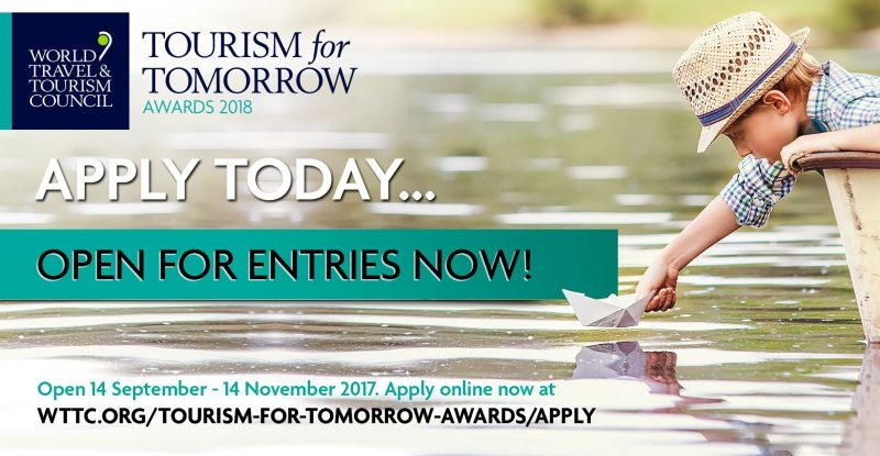 #WTTC announces Finalists for 2018 Tourism for Tomorrow Awards