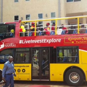 Uganda gets its first sightseeing tourist bus