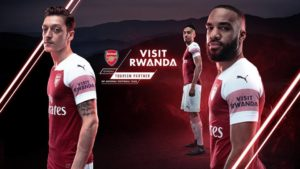 Arsenal FC & RDB sign 3-year deal to promote Rwandan Tourism