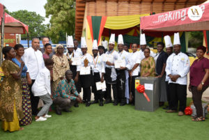 Chefs Association of Ghana joins world body, outdoors kitchen units