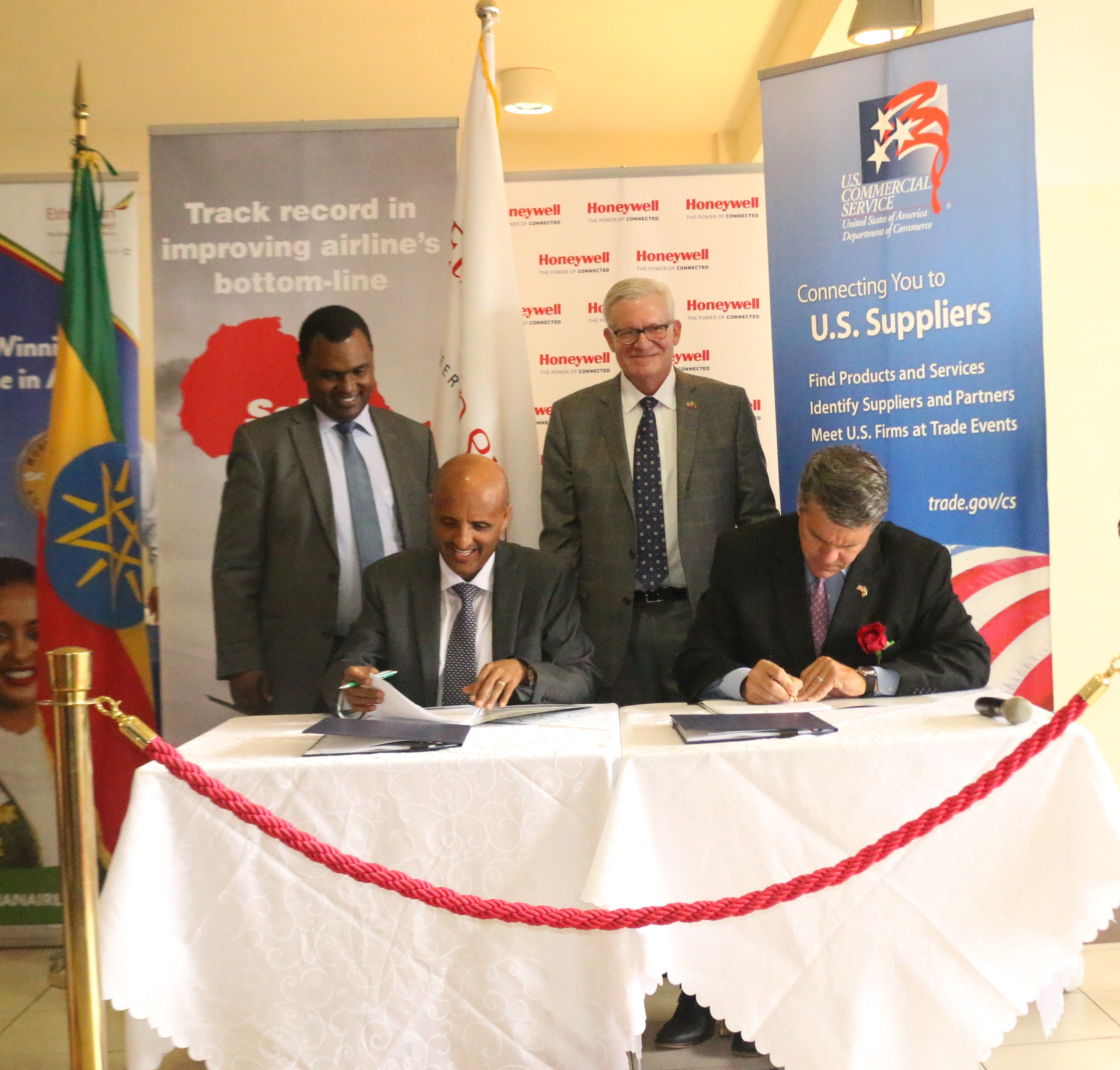 Ethiopian Airlines signs major deal with General Electric