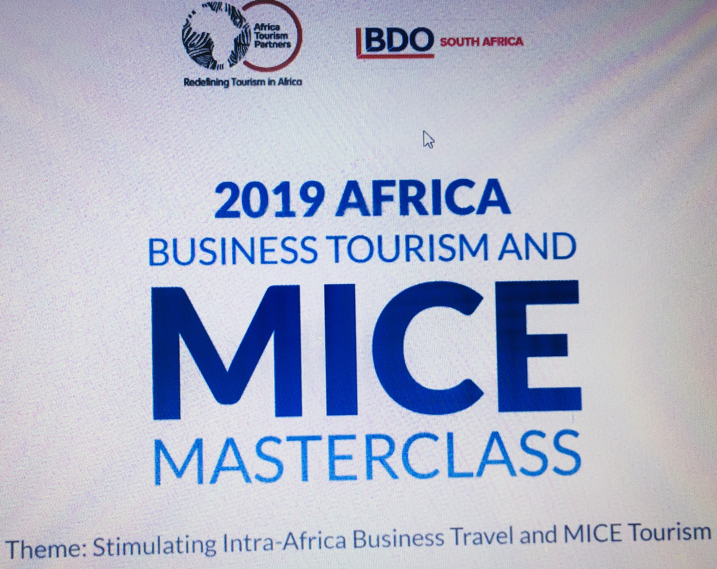 2nd annual Africa Business and MICE Tourism Master Class slated for June 10-12 in Johannesburg