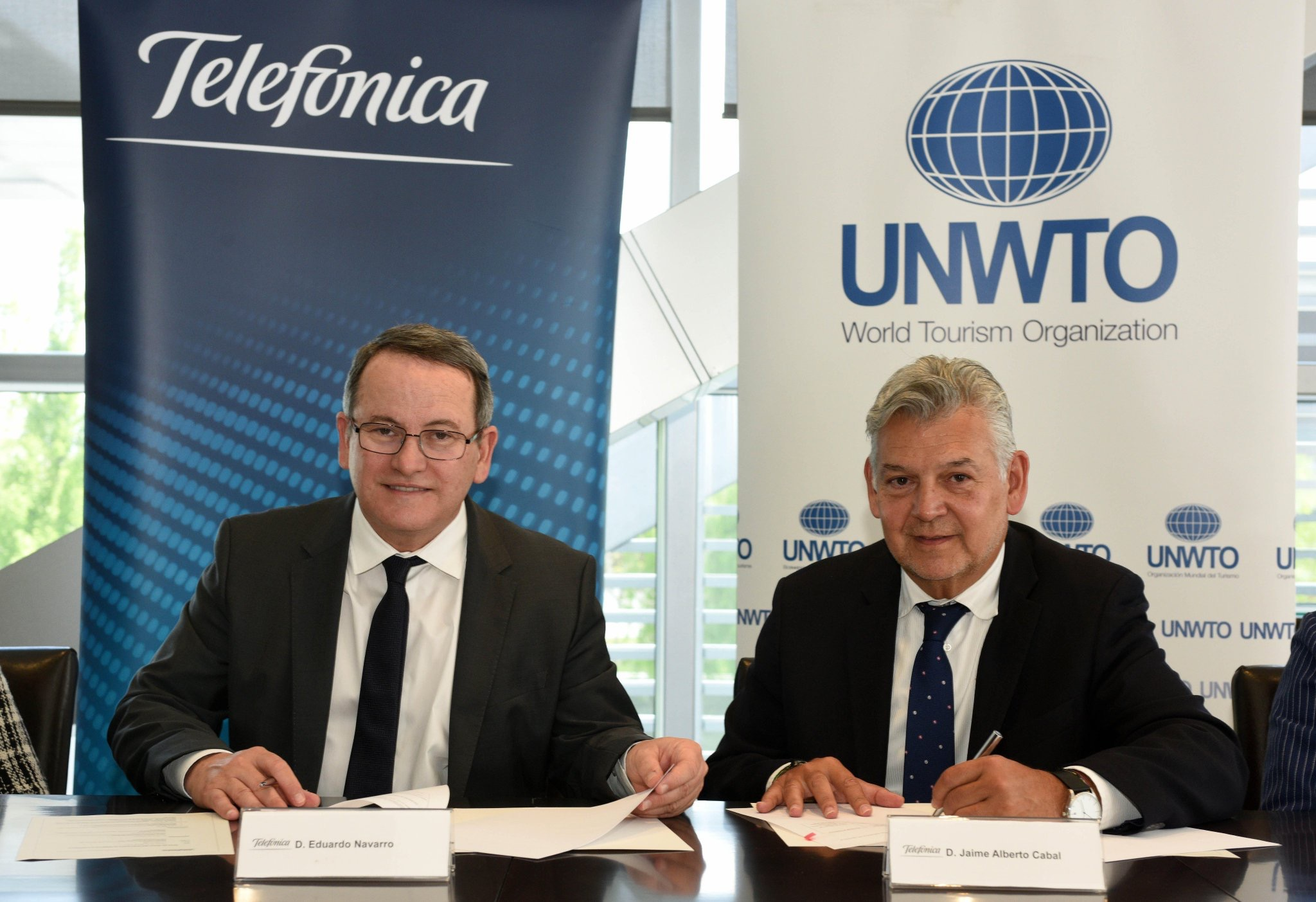 UNWTO partners with Telefónica to promote tourism sector digitalization