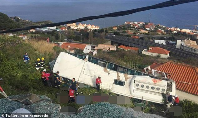 Breaking: At least 28 dead in Madeira bus crash