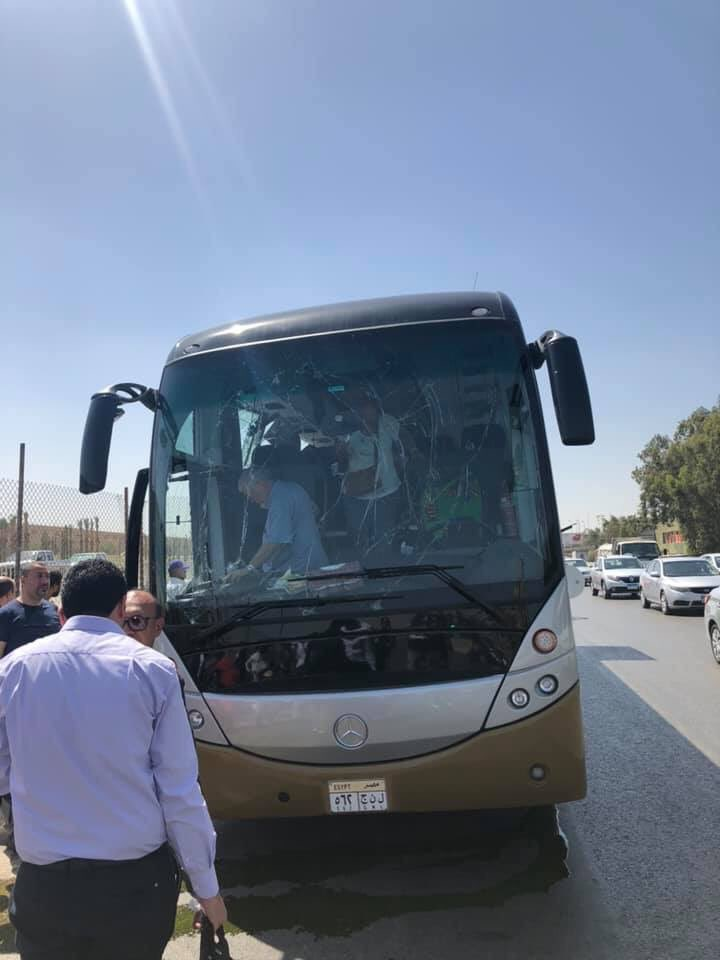 Explosion hits tourist bus in Egypt